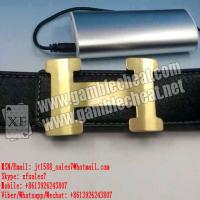 Wholesale XF new leather strap camera for poker analyzer from china suppliers