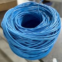 Wholesale Unshield Bulk CAT6 Ethernet Cable 4 Pairs CCA Copper Clad Aluminum 1.0 HDPE Insulation from china suppliers