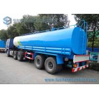 Wholesale Drinking Water Tanker Trailer 40000 L SUS304 2B Fuel Tanker Semi Trailer from china suppliers