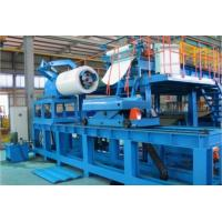 Buy cheap Blue Color Hi Speed PU Sandwich Panel Machine , Polyurethane Sandwich Panel from wholesalers
