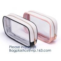 China Zippered Carry on Toiletry Bag Quart Luggage Pouch Travel Wash Bag Accessories Organizer Bag Set for Women Men Vacation on sale
