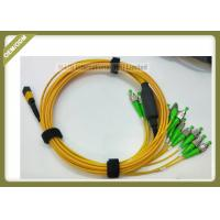 Buy cheap Low Insertion Loss Fiber Optic Patch Cord LSZH / OFNP Jacket For Servo System from wholesalers