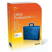 1 PC Retail License Office 2010 Key Code Professional 256 MB Required Memory