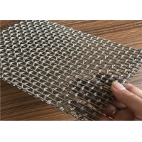 Buy cheap Wire Mesh Cabinet Door Panels / Decorative Cabinet Grille Mesh from wholesalers