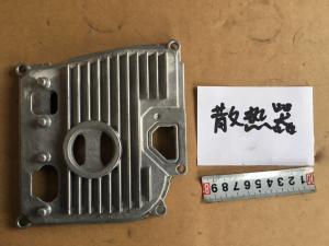 China Permanent Molding Die Cast Aluminium Radiators , Heat Sink Fins Cost Effective on sale