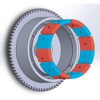 Wholesale Durable Customized Flywheel Arc Shaped Segment Ferrite Magnet from china suppliers