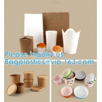 Wholesale Paper Custom Fried Disposable Hamburger Box Cup French Container Fries Kraft Fries Box Cone Shape bag from china suppliers