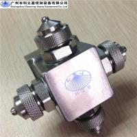 Wholesale 303 stainless steel multi-head Flat spray air atomizing nozzle for space disinfection from china suppliers