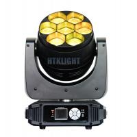 Wholesale 7 x 40W RGBW 4 in 1 Osram LED Stage Wash Moving Head Light  4°- 40° Electronic Zoom from china suppliers