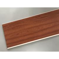Wholesale Eco Friendly PVC Wood Plastic Laminate Panels Flat Shape 250 × 8mm × 5.95m from china suppliers
