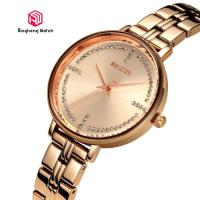 Buy cheap Creative Rose Gold Waterproof Watch For Women 30mm Dial Diamter from wholesalers