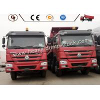 Wholesale 30-50 Ton Small Heavy Dump Truck For Construction Work , Commercial Dump Trucks from china suppliers