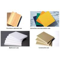 Wholesale High Density White 19mm Sintra PVC Forex Sheet For Upholstery from china suppliers