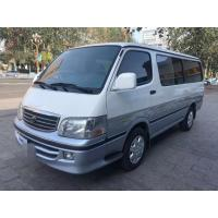 Wholesale 13 Seats Diesel Toyota Used Mini Bus With AC Equip No Accident 2015 Year from china suppliers