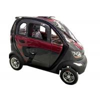 Wholesale 240Kg Economic Electric Cars , 60V1200W Motor Steering Wheel Automatic Electric Car from china suppliers