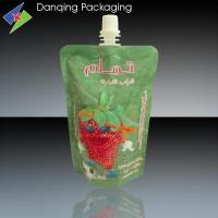 Wholesale doypack pouch, juice stand up pouch with spout, snack packaging from china suppliers