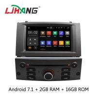 Buy cheap Android 7.1 7 Inch Peugeot DVD Player PX3 4Core With AUX-IN Map GPS from wholesalers