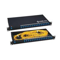 Wholesale 1x16 Black color Gpon Telecommunication Rack Mount PLC Splitter from china suppliers