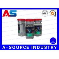 Buy cheap Laboratory 10ml Vial Labels A4 Laser Pharma Vinyl Sticker With Hologram Effect from wholesalers