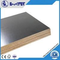 China Film-coated Plywood, 9mm Hardwood Core WBP Glue 2-time Hot Press on sale