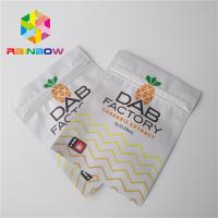Buy cheap Aluminum Foil Plastic Pouches Packaging Moisture Proof For CBD Oil Gummies Weeds from wholesalers