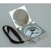 Wholesale Silver Color Survey Instruments' Accessories Geology Metal Handheld Compass from china suppliers