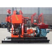 Quality Easy Operate Portable Core Drill Rig 100m - 200m Drilling Depth ISO 9001 Approved for sale