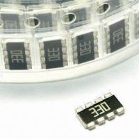 Wholesale 0402 x 4 Thick Film SMD Chip Resistor Array (Convex) with 0 to 1M Resistance from china suppliers