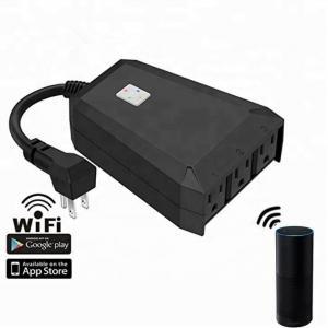Buy cheap IP44 waterproof wifi remote control smart plug desktop socket, suitable for home from wholesalers