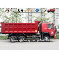Wholesale Red ZZ3257N3647A Mining Heavy Duty Dump Truck 6 X 4 Drive 20 To 30 Ton from china suppliers