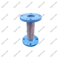 Wholesale Flange connection stainless steel metal braided hose used in industry from china suppliers