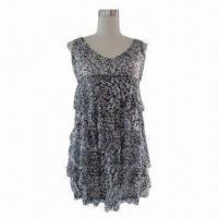 Wholesale Print Sequins Dress from china suppliers
