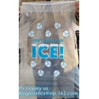 China BIO-DEGRADABLE, Commercial Ice Bags, Poly Ice Bags, Metallocene Bags, Plastic Twist Tie Ice Bags, Customized Retail Ice on sale