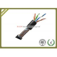 China Outdoor 1000ft Waterproof  Network Fiber Cable Cat5e SFTP Wiring Cable For Communication on sale