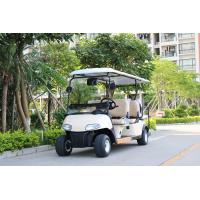 Buy cheap CE Approval White Color 6 Passenger Golf Carts Electric Mini Car With 2 Reverse from wholesalers