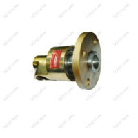 Wholesale High speed copper housing water rotary union ANSI flange connection 1 inch from china suppliers