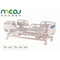 Quality Electric ICU Hospital Bed Healthcare MJSD04-04 ABS Guardrail With 5 Functions for sale