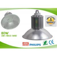 Wholesale Light Weight Led Warehouse Lighting 80w 8000lm AC85 - 277V Led Workshop Lamp from china suppliers