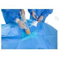 Customized Upper Limb Sterile Surgical Drapes , Operating Room Drapes With Incision Film