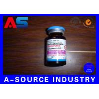 Buy cheap Testosterone Cypionate 200mg Pill Bottle Label With Laser Hologram Printing from wholesalers
