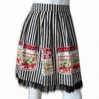 Wholesale Women's Stripe Printed Skirt from china suppliers