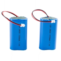 Wholesale Rechargeable Panasonic 7.4V 2200mAh 18650 Lithium Battery from china suppliers
