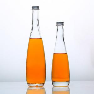 Wholesale 350ml 515ml 525ml Small Champagne Bottles Glass Beverage Bottles With Airtight Caps from china suppliers