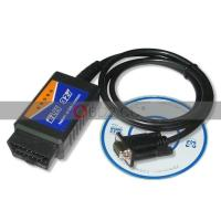 Buy cheap USB ELM327 V1.4 PLASTIC OBDII EOBD CAN BUS SCANNER from wholesalers