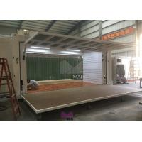 China Expandable Shipping Container Retail Store , Portable Prefab Retail Stores on sale