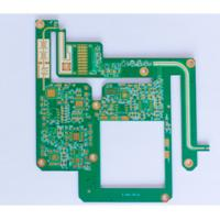 Power Supply 2 Layer FR4 Double Sided PCB Assembly Services Gold Immersion 1.6mm