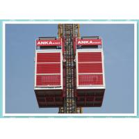 Wholesale Bridge / Building Construction Hoist Elevator With Rack And Mast Section from china suppliers