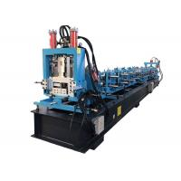 Buy cheap Z Purlin Roll Forming Machine For Construction Material Large Capacity from wholesalers