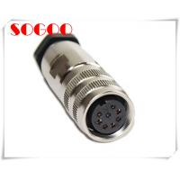 8pin Din AISG Connector M16 Circular Electrical Connectors Straight Plug