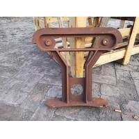 China Plywood Cast Iron Bench Ends Used For Waiting Room Bench Seating on sale